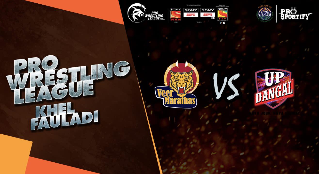 Pro Wrestling League: Veer Marthas vs UP Dangals