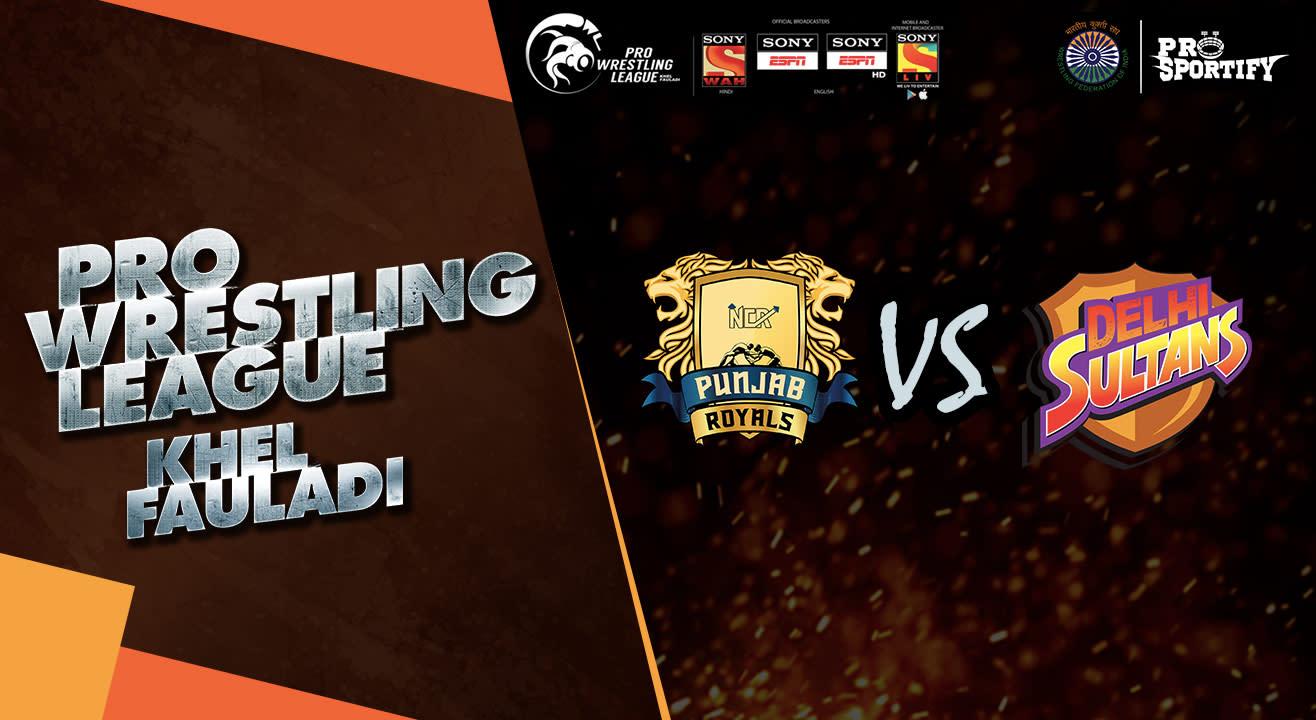 Pro Wrestling League: Punjab Royals vs Delhi Sultans