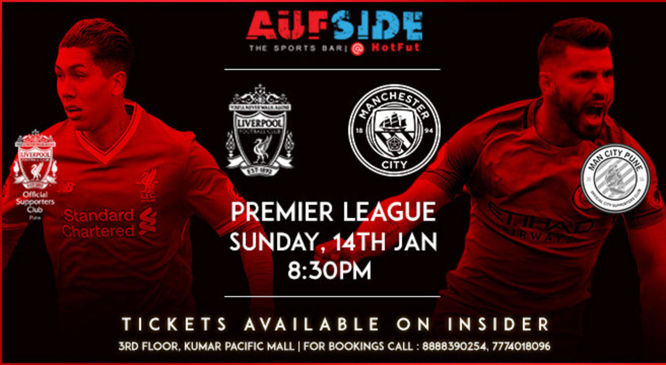 Liverpool v Manchester City Screening, Pune