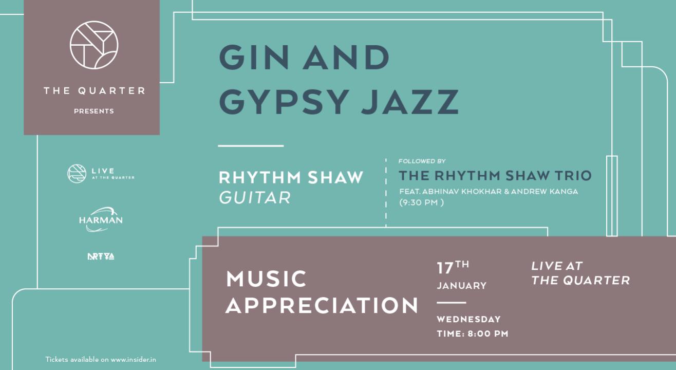 Gin & Gypsy Jazz at The Quarter