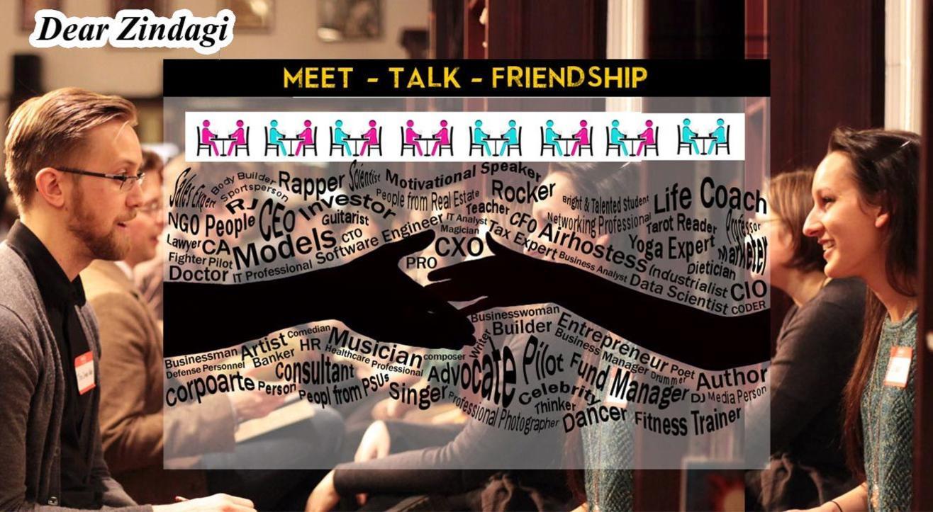 Meet - Talk - Friendship