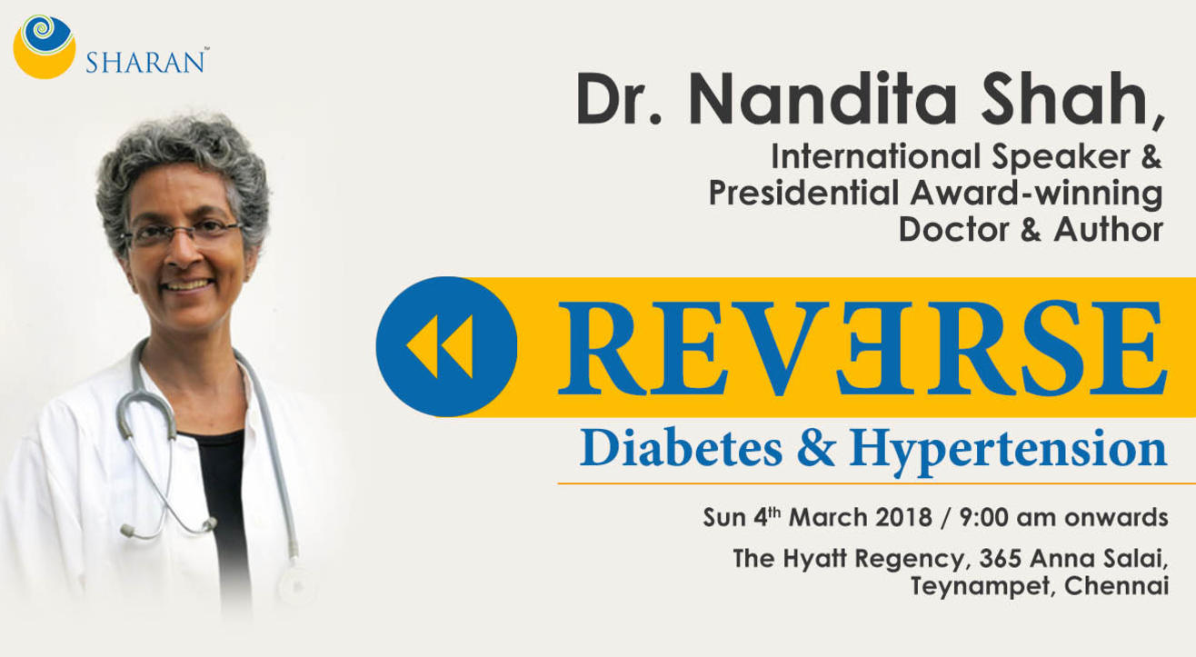 Reversing Diabetes and Hypertension, Chennai