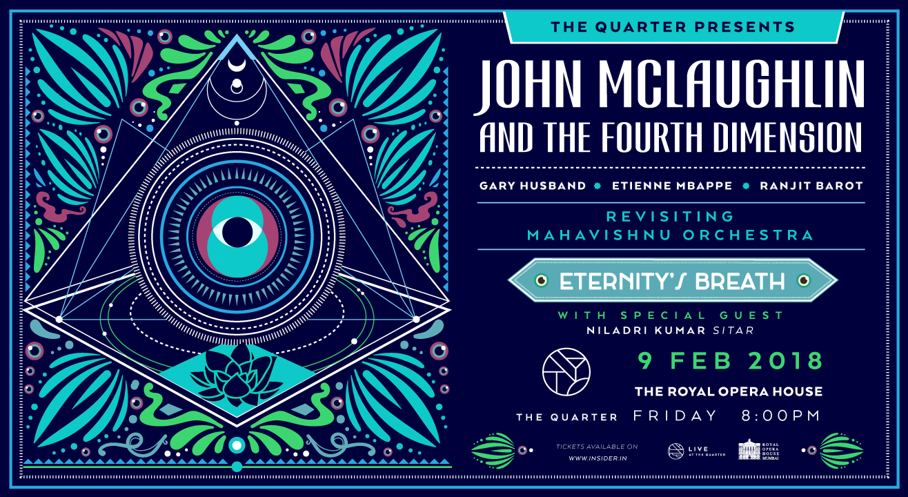 The Quarter Presents: John McLaughlin & The 4th Dimension - Eternity's Breath