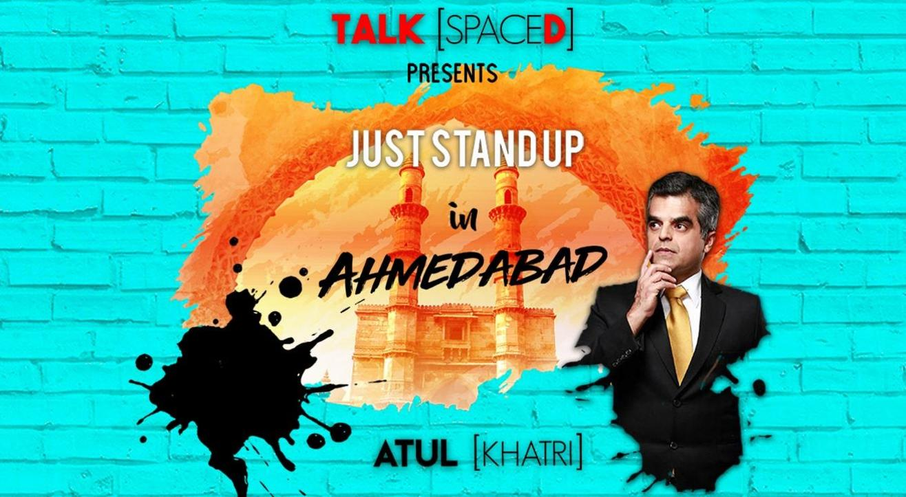 TALKSPACED Presents Just Stand Up with Atul Khatri