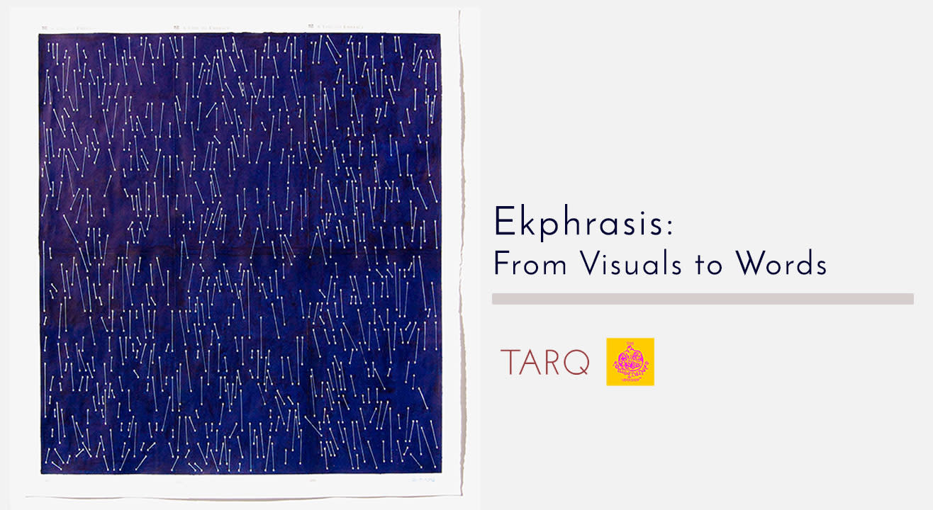 Ekphrasis: From Visuals to Words