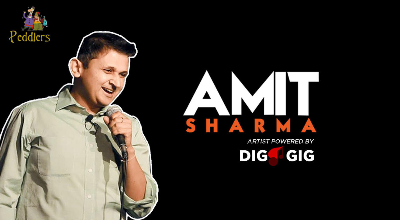 Peddlers Standup Comedy Show ft. Amit Sharma Live in Chandigarh