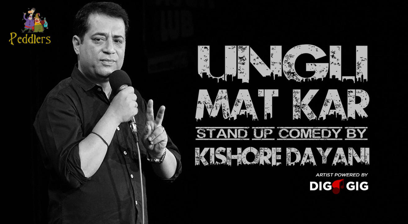 Peddlers Standup Comedy Show ft. Kishore Dayani Live in Chandigarh