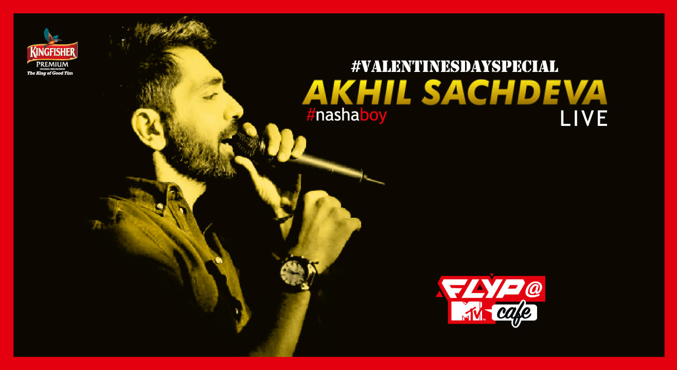 Akhil Sachdeva w/ Nasha Band Performing LIVE #ValentinesDay