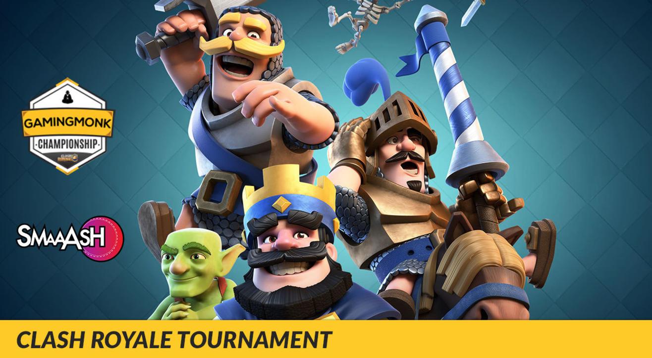 GamingMonk Clash Royale Tournament, Bangalore