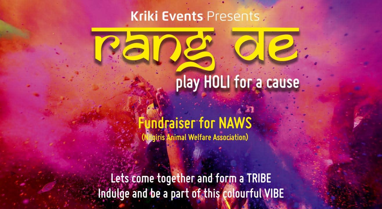 Rang De - Play Holi For A Cause