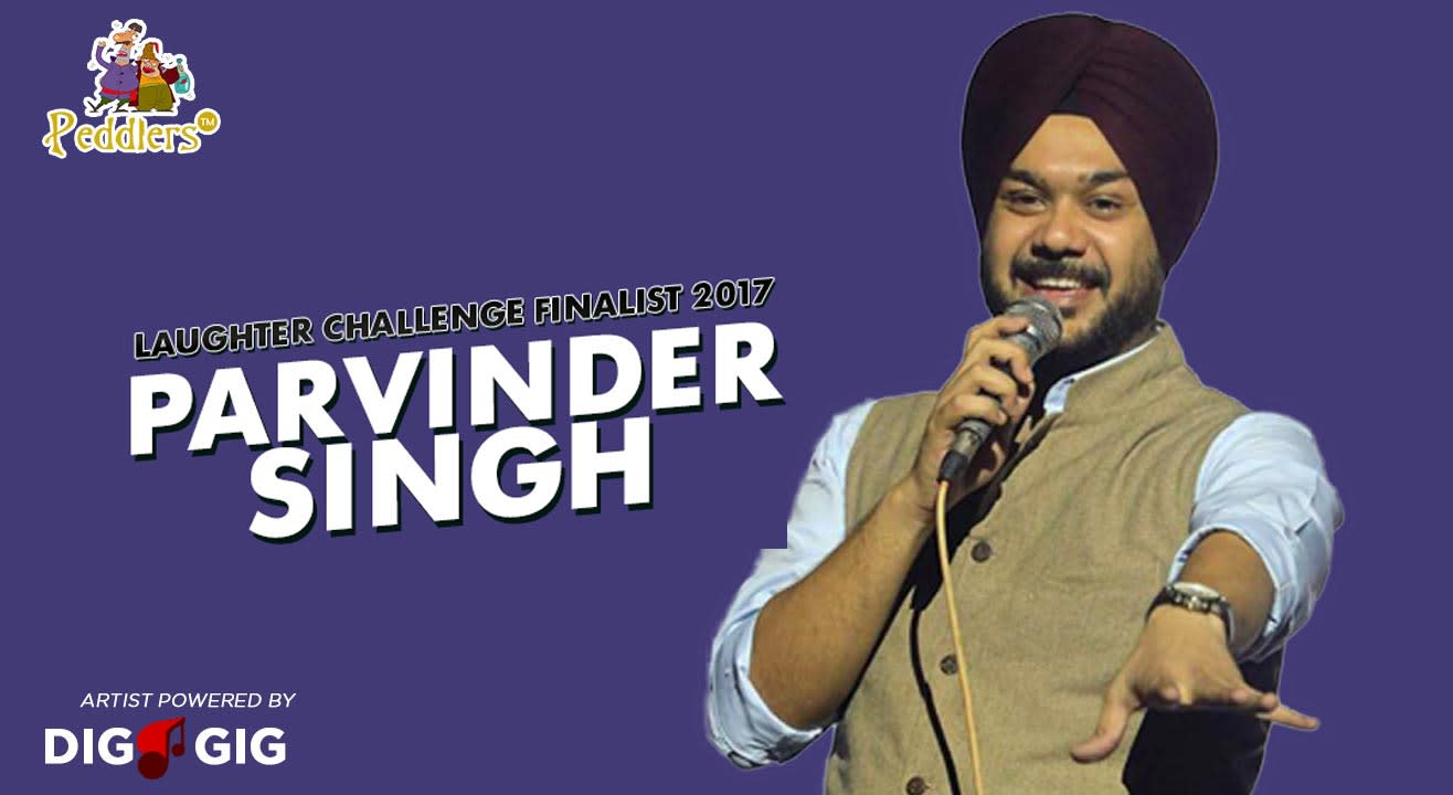 Peddlers Standup Comedy Show ft. Parvinder Singh in Chandigarh