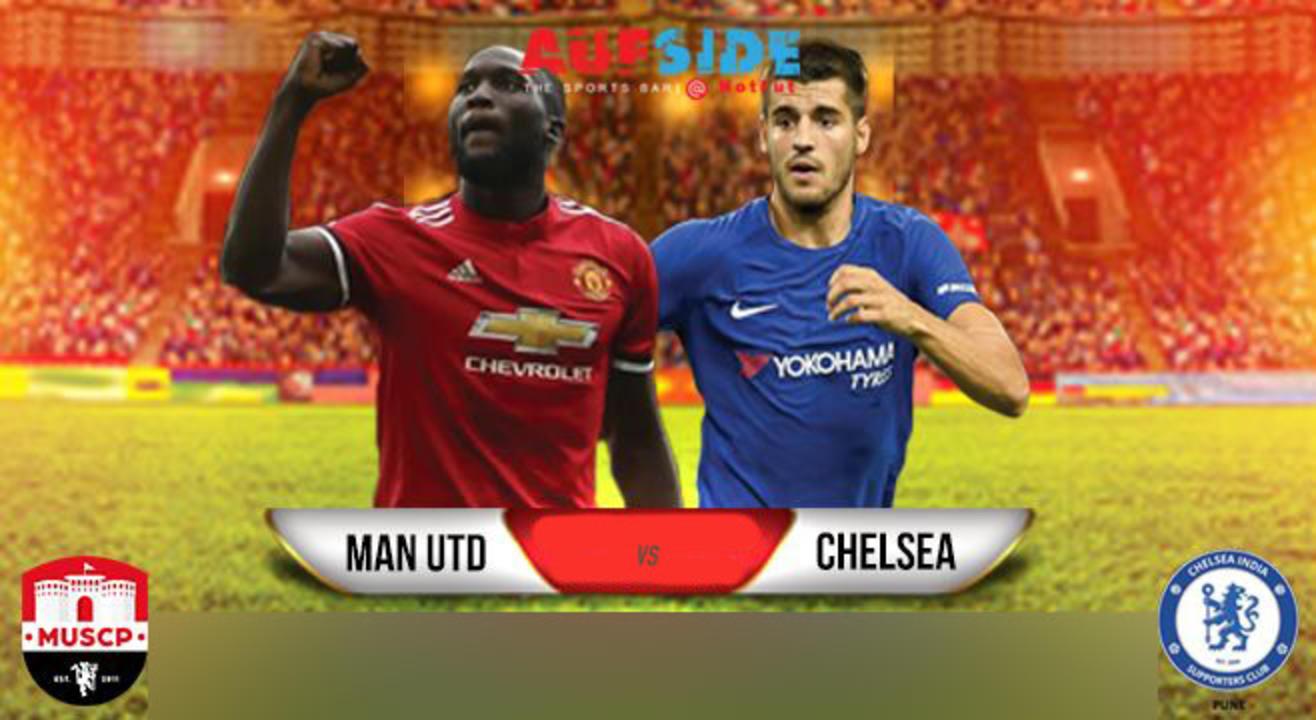 Manchester United v Chelsea Screening, Pune