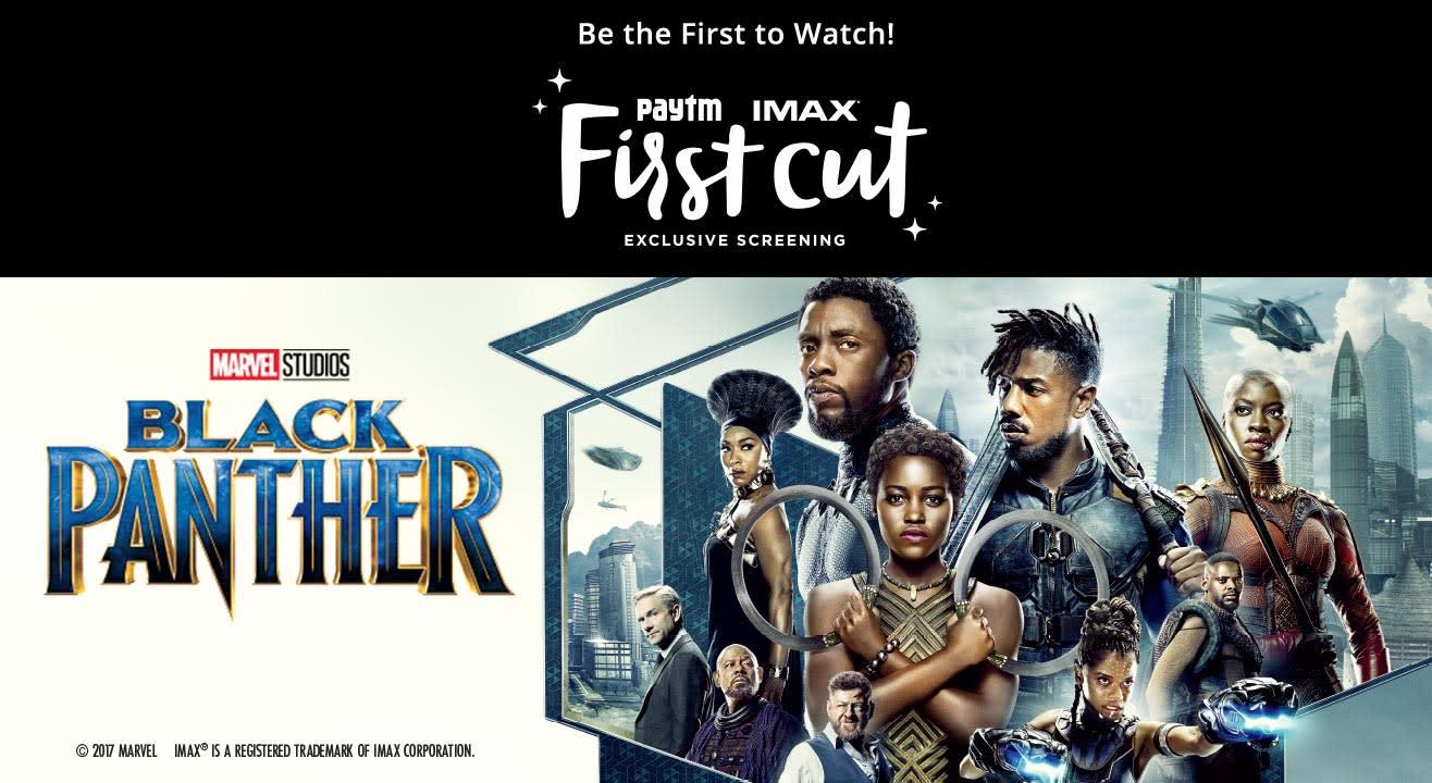 Special Screening Black Panther: First Cut, Koramangala
