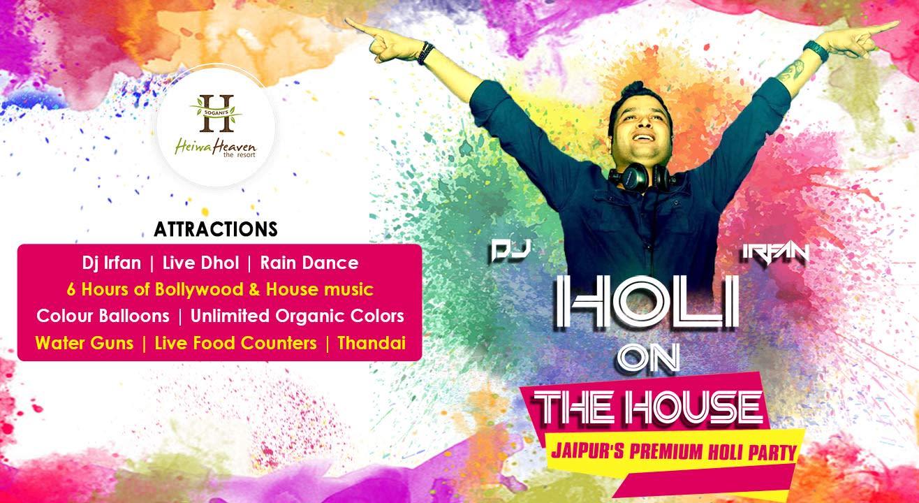 Holi On The House