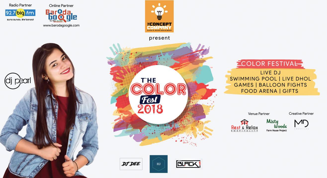 The Colour Fest, 2018
