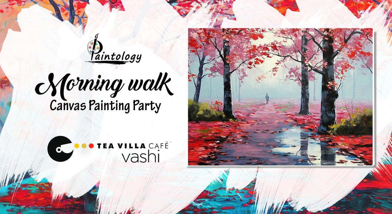 'Morning Walk' Canvas Painting Party