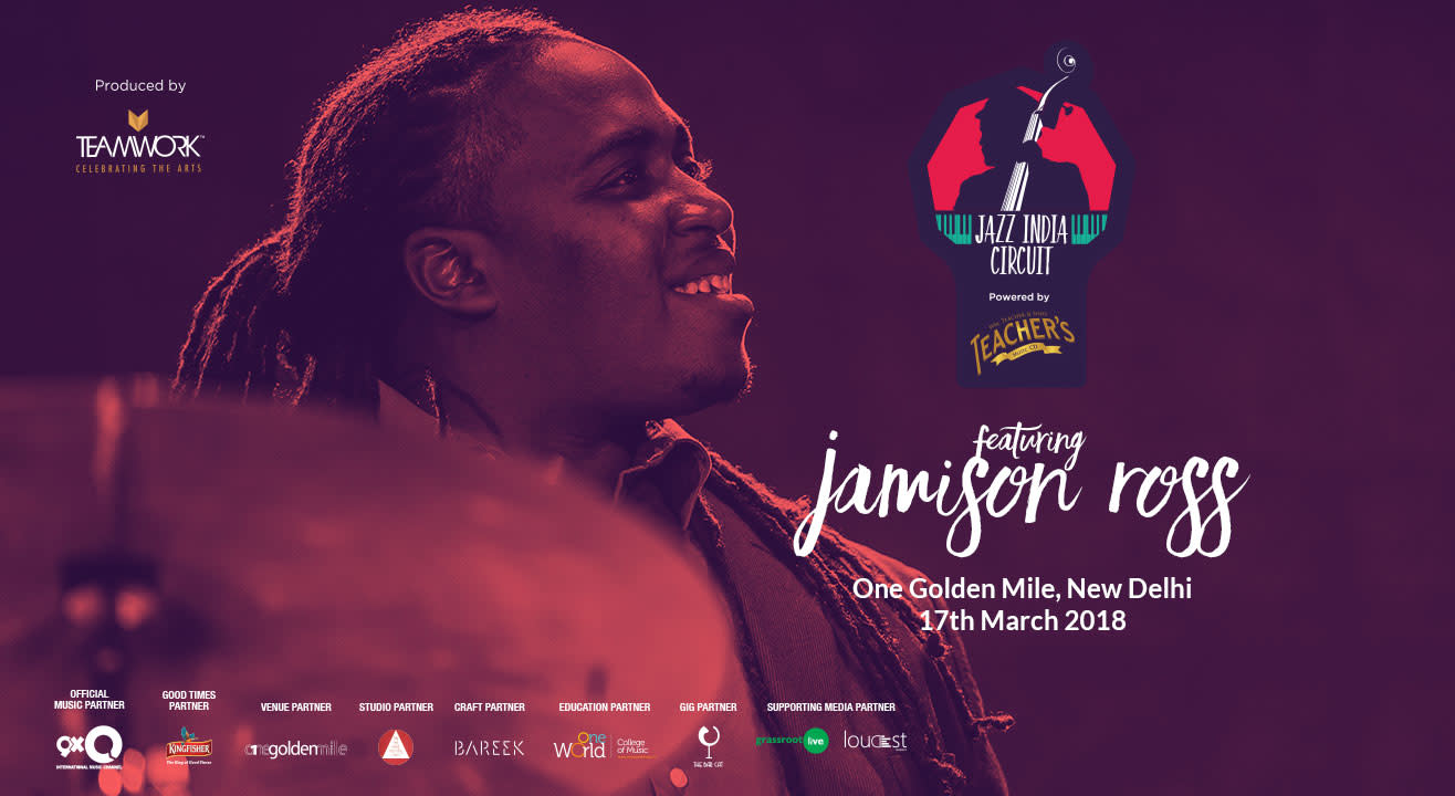 Jazz India Circuit Featuring Jamison Ross