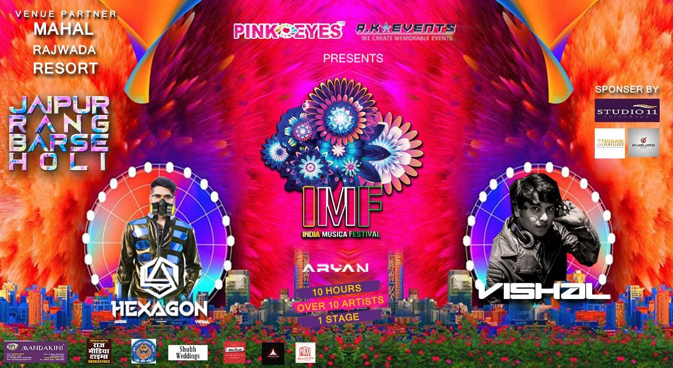 India Musica Festival #Jaipur Rang Barse, 2018