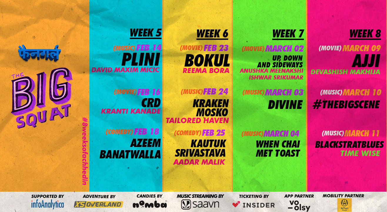 The Big Squat: An 8-week Entertainment Festival is Coming To Ahmedabad!