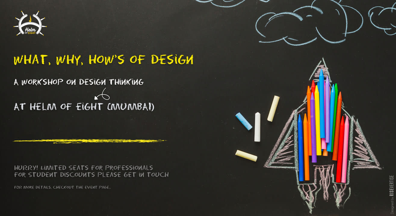 Design 101, a workshop on Design Thinking