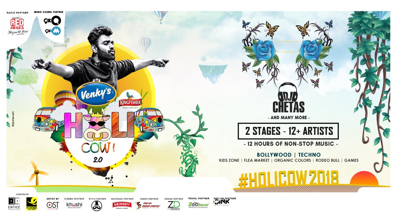 Holi Cow 2.0 With Dj Chetas & Many More