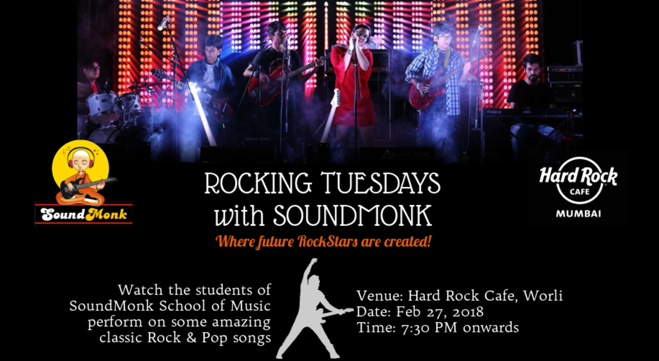 Rocking Tuesday's with SoundMonk