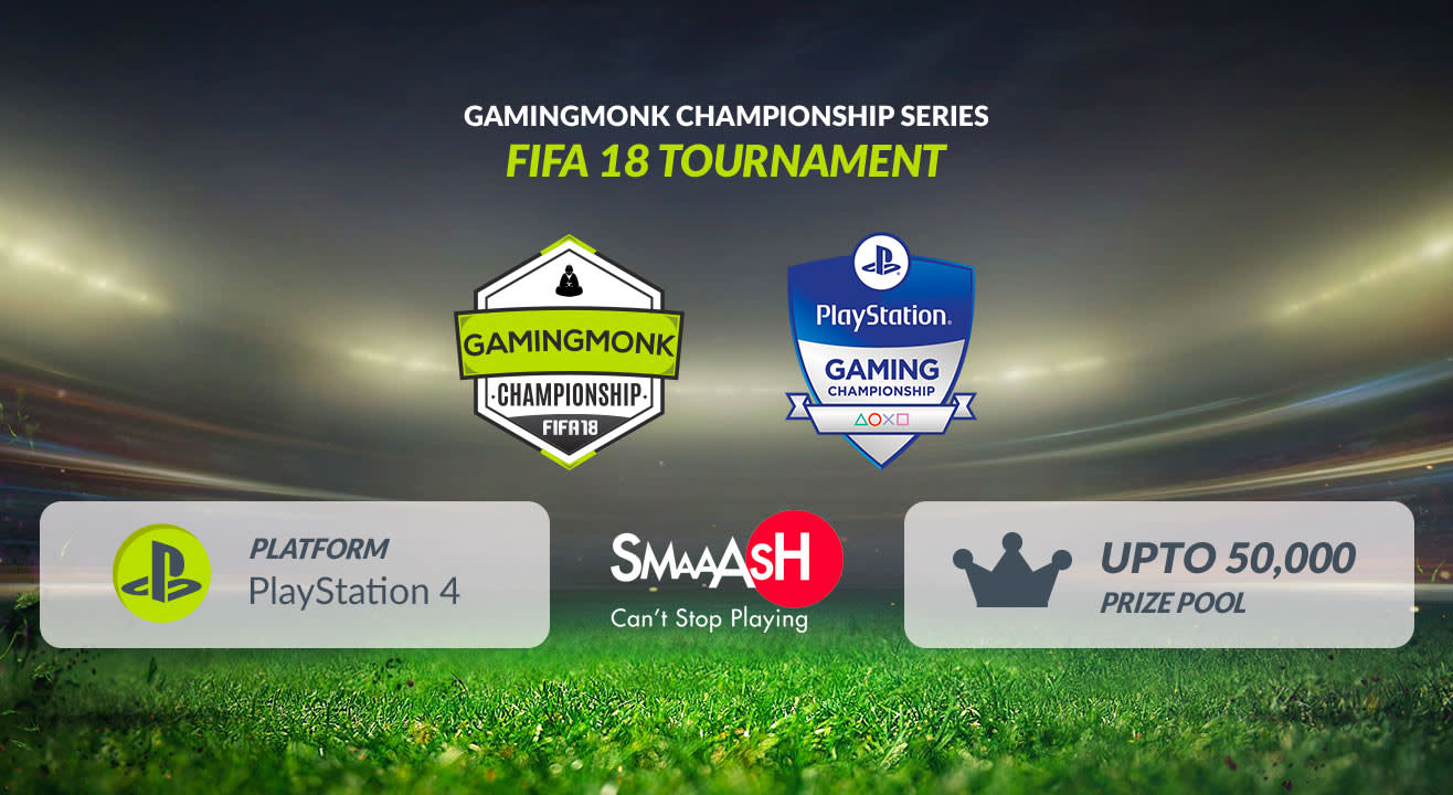 GamingMonk Championship Series - FIFA, Hyderabad