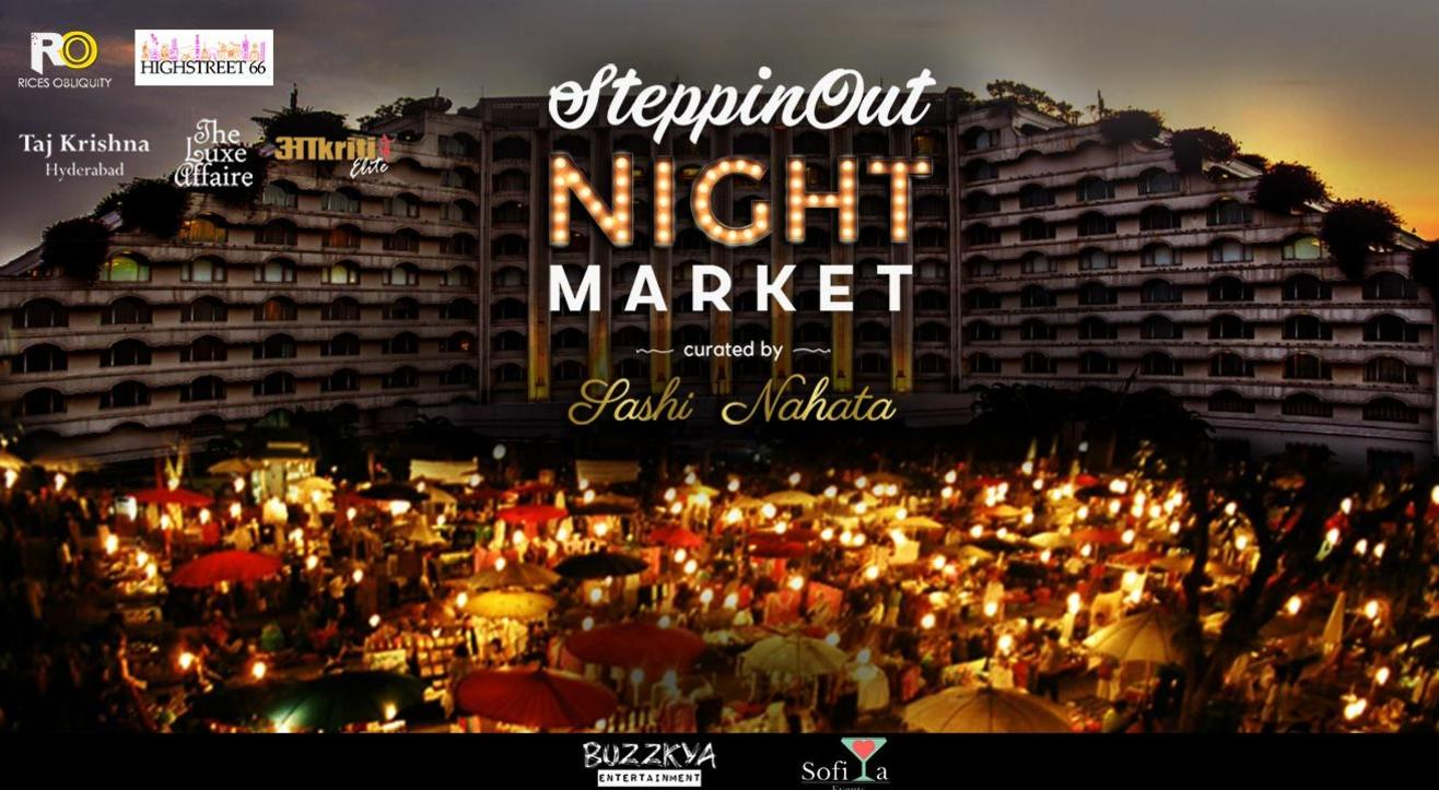 SteppinOut Night Market, Hyderabad
