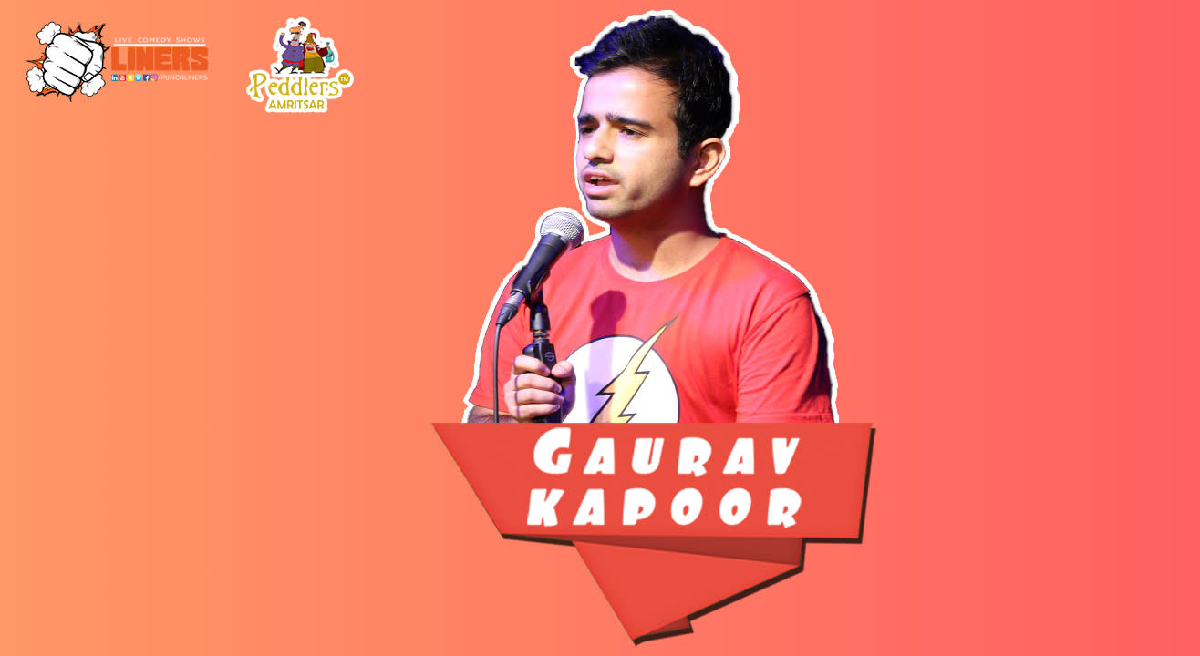 PunchLiners: Standup Comedy Show ft. Gaurav Kapoor in Amritsar