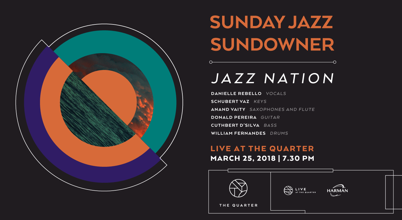 Sunday Jazz Sundowner with Jazz Nation at The Quarter