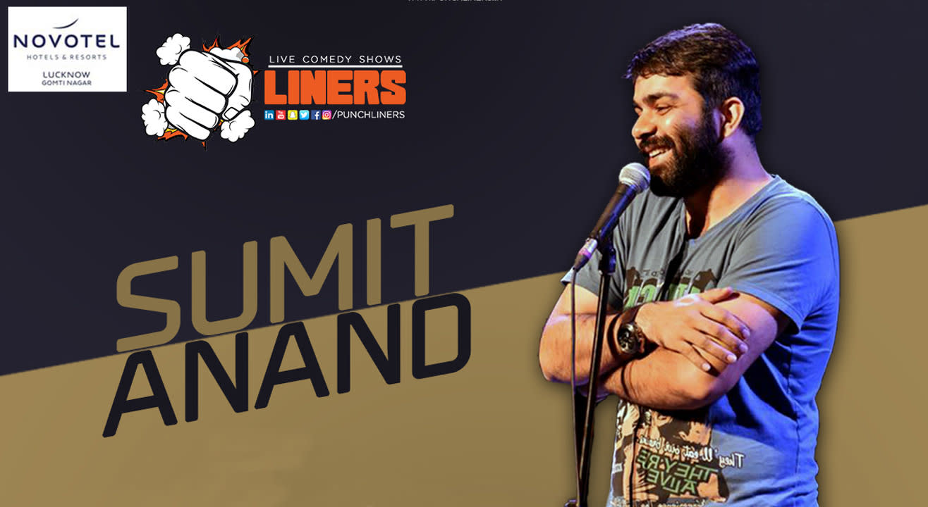 PunchLiners: Standup Comedy Show Ft. Sumit Anand In Lucknow