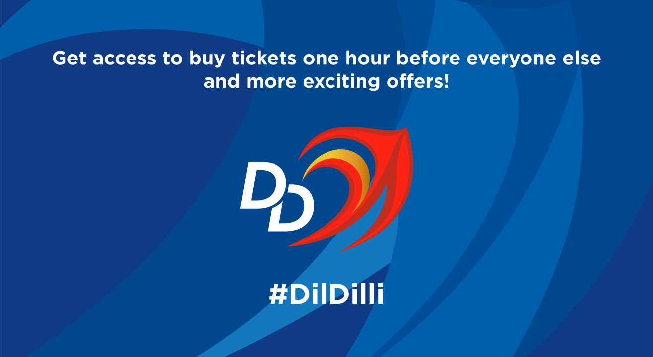 Sign up for early access to DD - VIVO IPL 2018 Home Game Tickets
