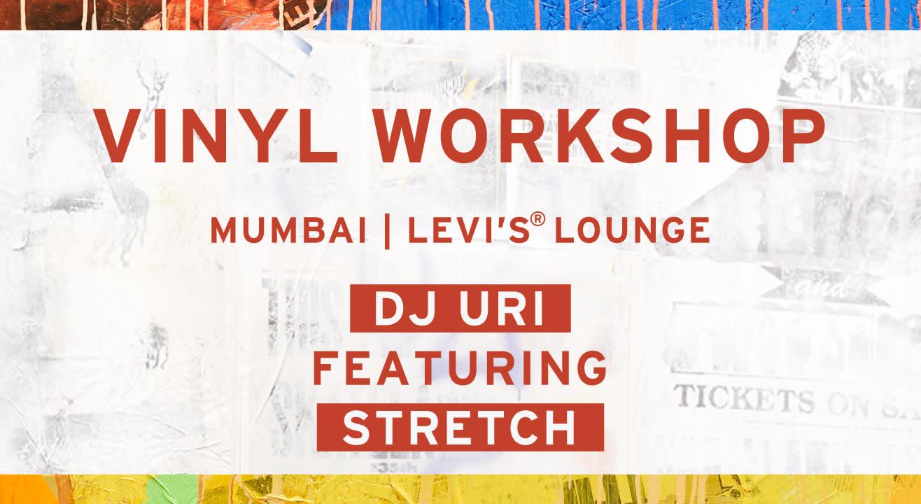 Vinyl workshop with DJ Uri