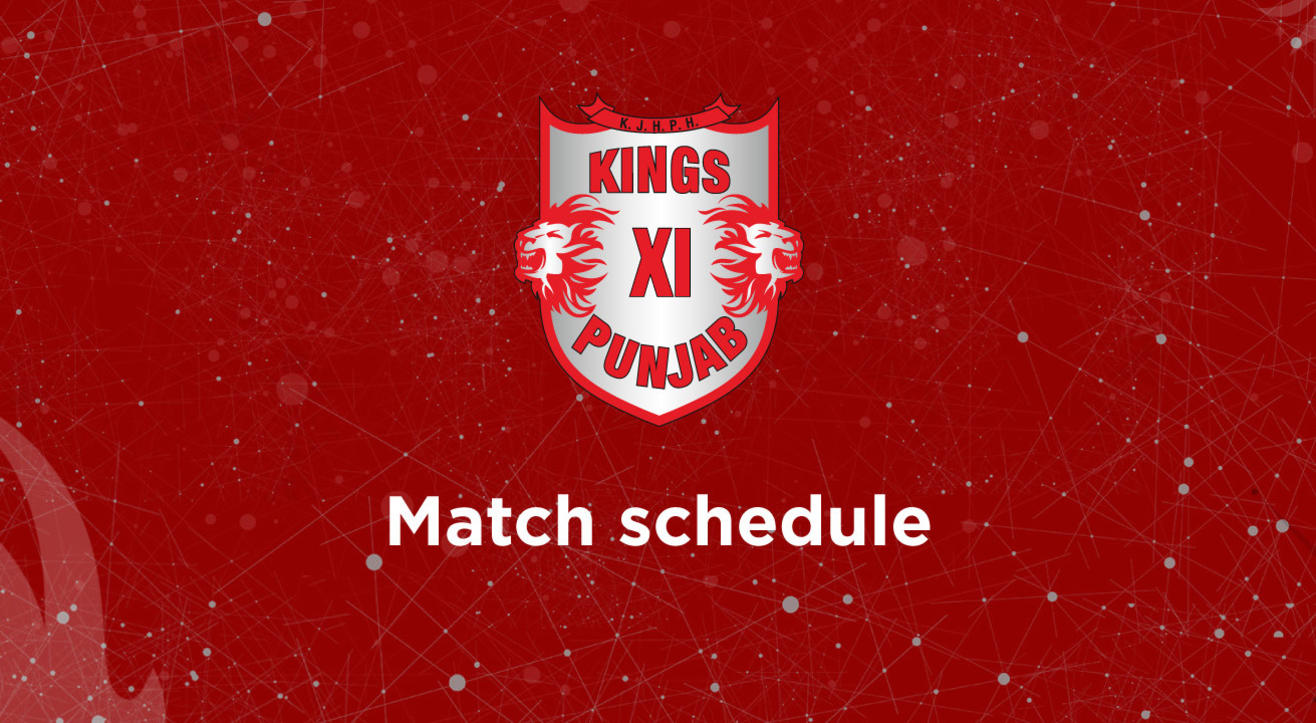 Schedule & Results: Kings XI Punjab matches for VIVO IPL 2018