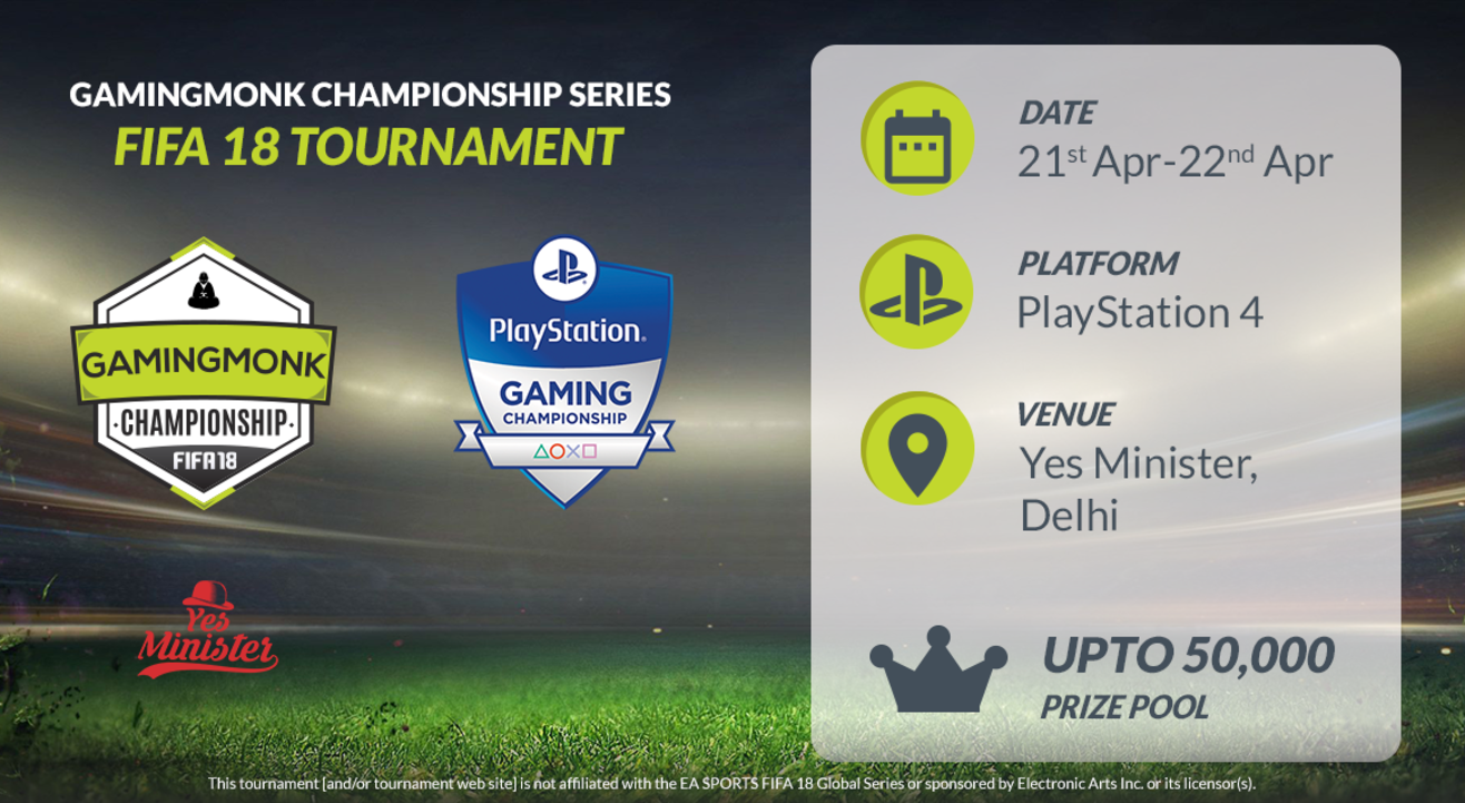 GamingMonk FIFA Tournament - Delhi