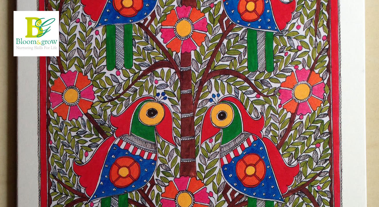 Madhubani Painting Workshop-Two-Day Workshop By Vidushini Prasad