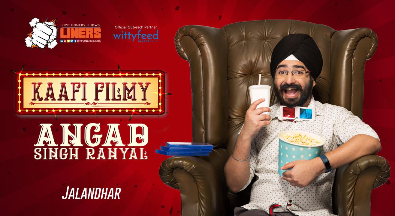 Punchliners: Standup Comedy Show ft. Angad Singh Ranyal - Jalandhar