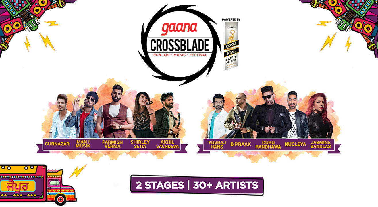Gaana Crossblade Music Festival, Jaipur