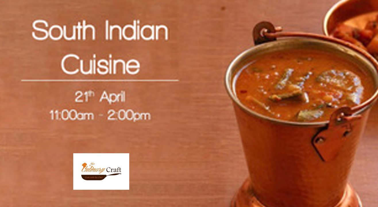 South Indian Cuisine Class