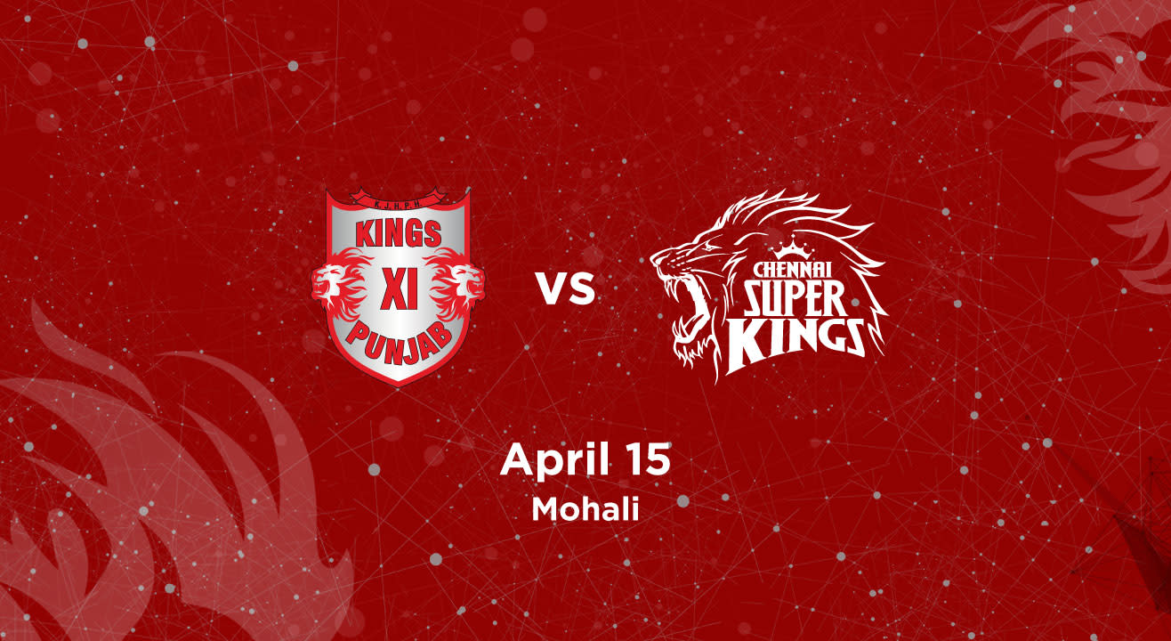 VIVO IPL 2018 - Match 12 - Kings XI Punjab vs. Chennai Super Kings