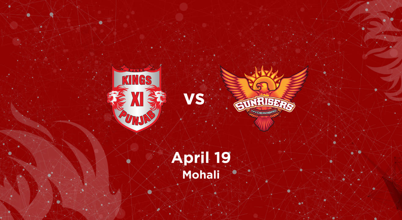 VIVO IPL 2018 - Match 16 - Kings XI Punjab vs. Sunrisers Hyderabad