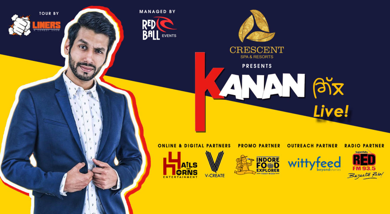 Punchliners Stand Up Comedy Show Feat Kanan Gill, Indore