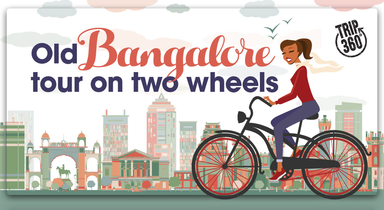 Old Bangalore Tour On Two Wheels!