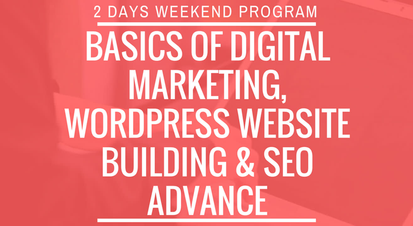 Basics Of WordPress & SEO Advance Training