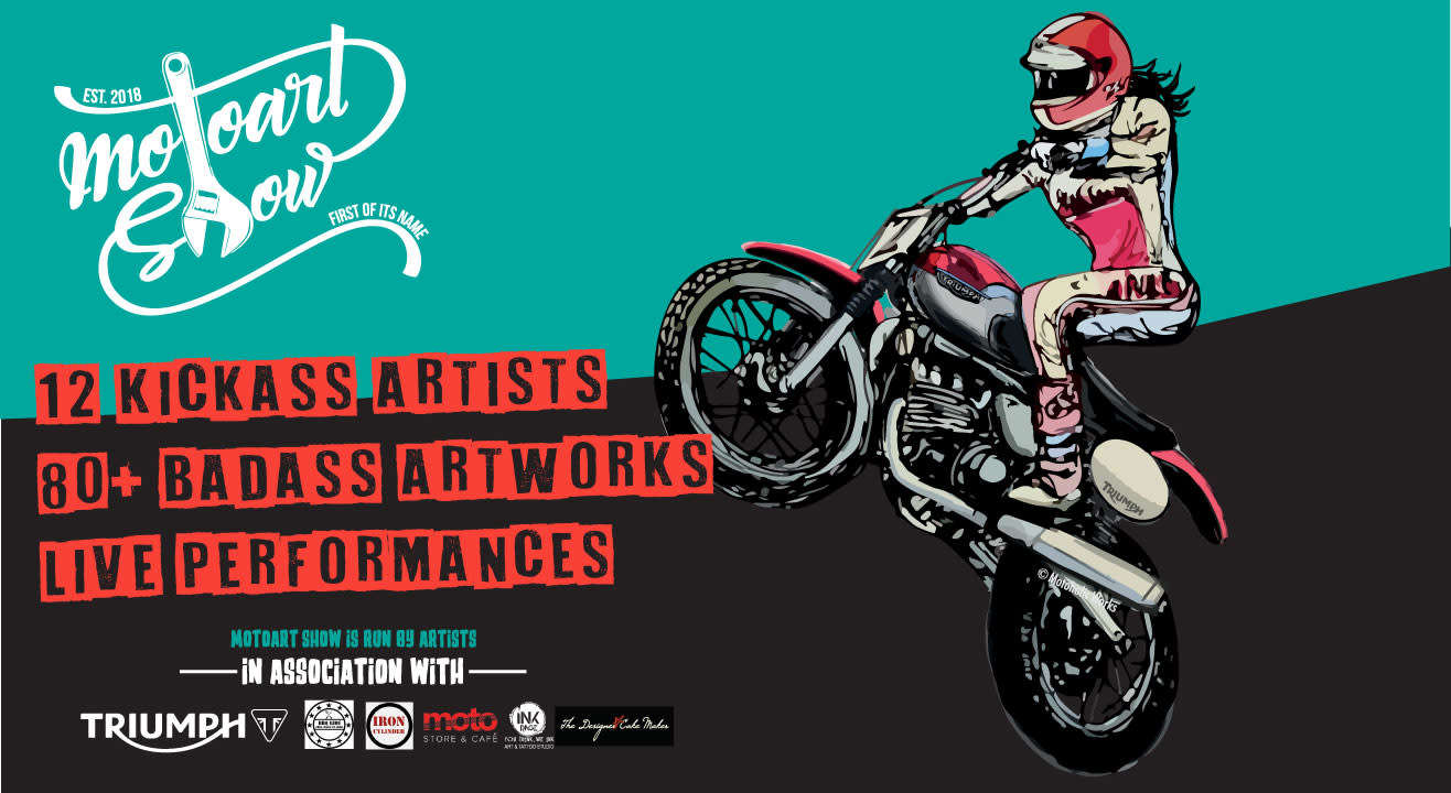 Moto Art Show - First of Its Name