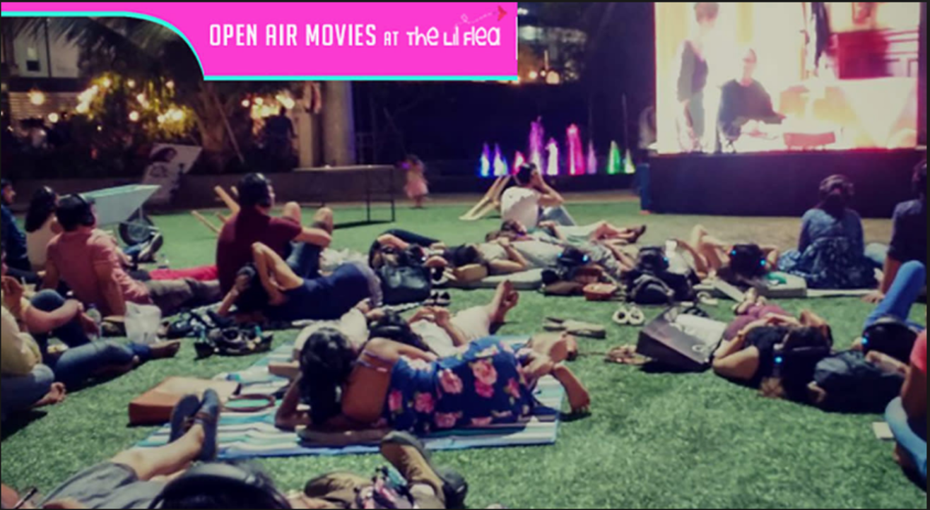 Open Air Movies at The Lil Flea's 4th Anniversary Edition