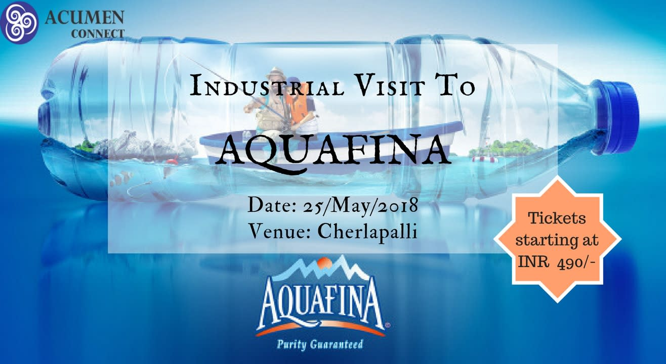 Industrial Visit to Aquafina