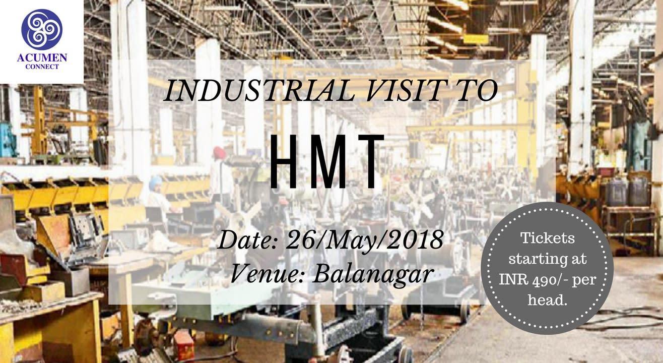 Industrial Visit to HMT