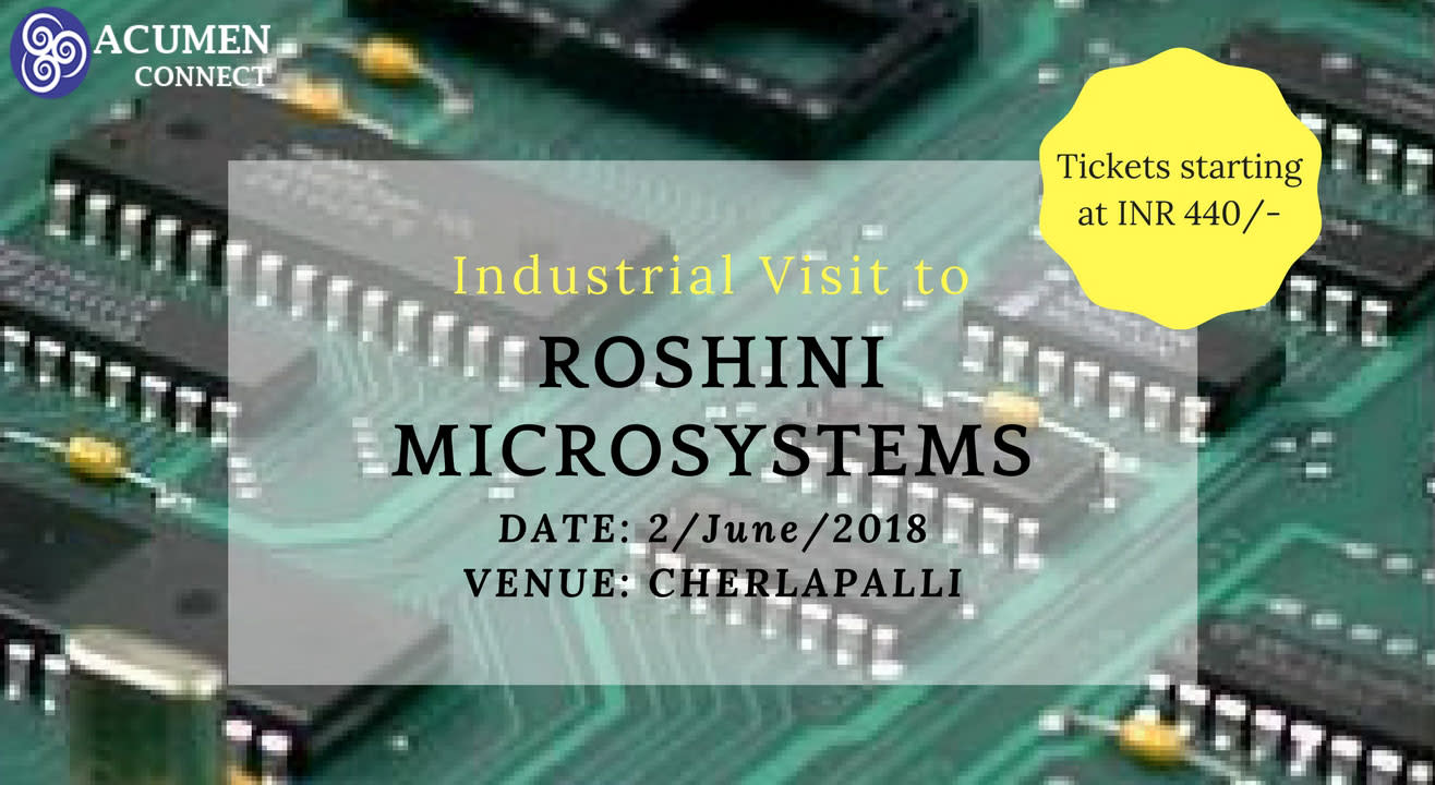 Industrial Visit to Roshini Microsystems