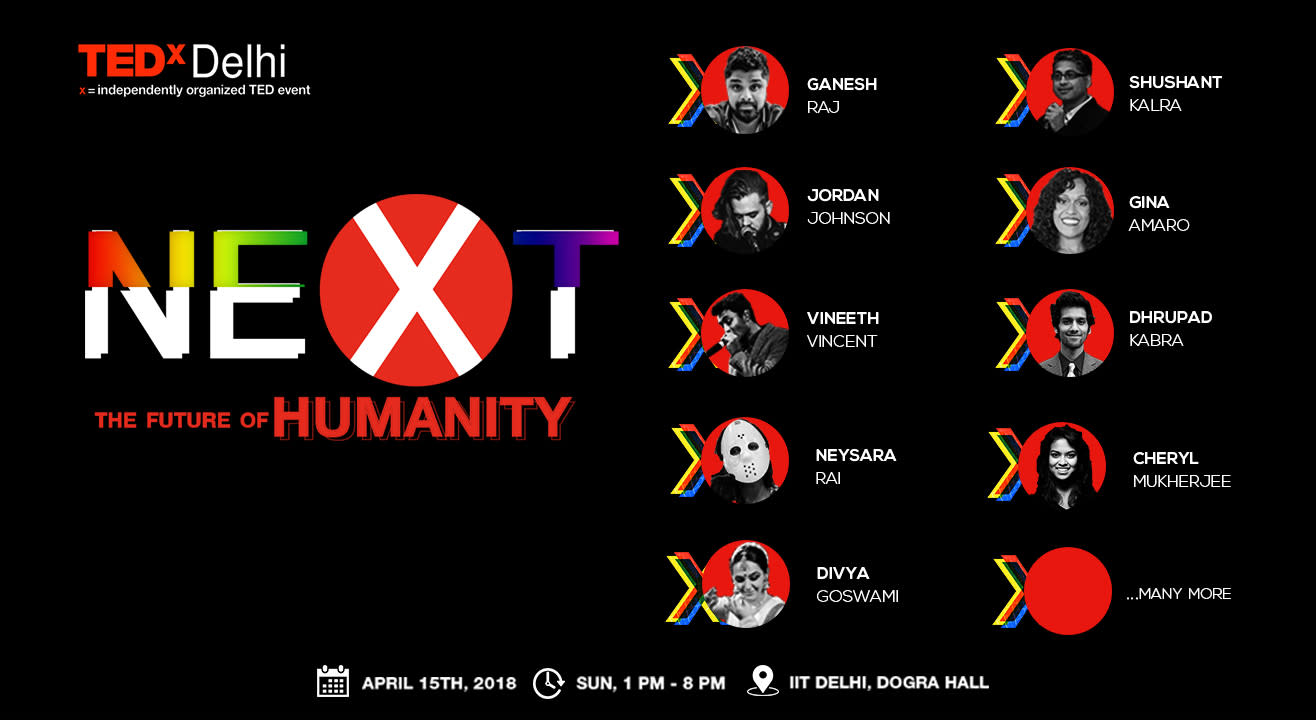 TEDxDelhi - The Future Of Humanity